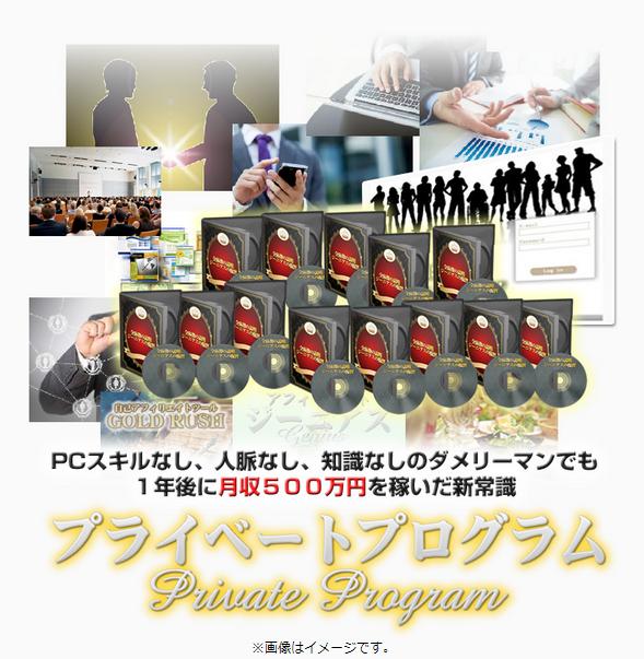 プライベートプログラム内容